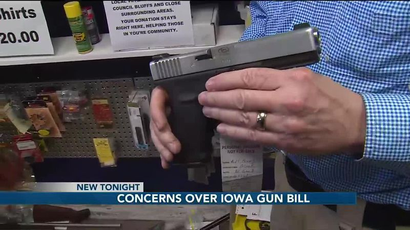 The Iowa House recently passed a permitless carry bill that would give Iowans the right to...