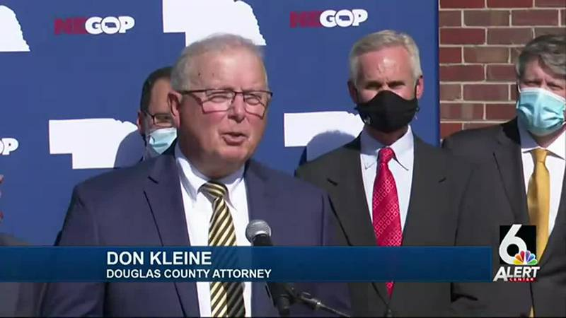 Douglas County Attorney Don Kleine joins Republican Party