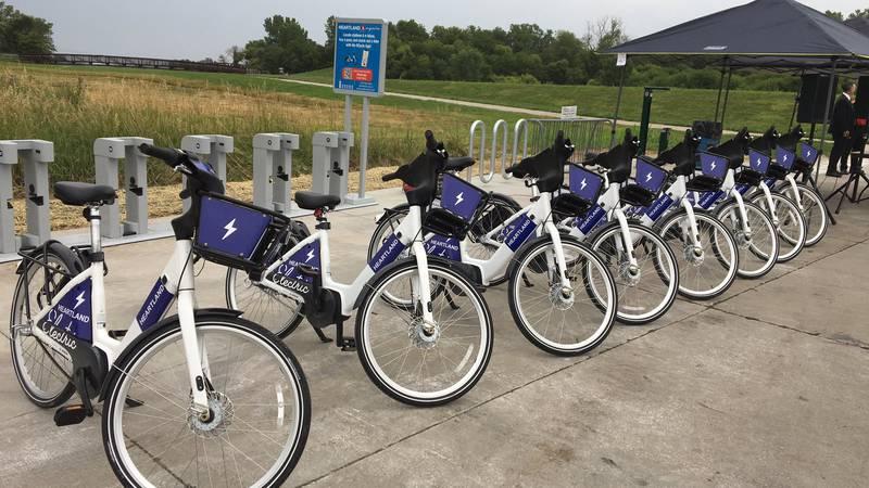 Heartland Bike Share is expanding to Bellevue.