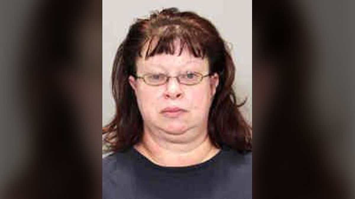 43-year-old April Ann South is charged with first-degree theft, identity theft and credit card...