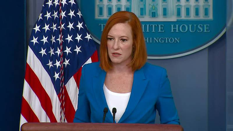 Press secretary Jen Psaki addresses the upcoming guidelines update from the CDC.