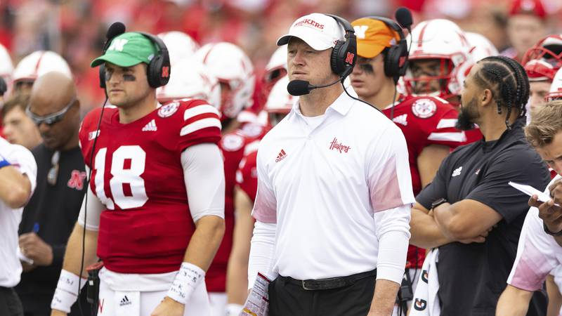 Nebraska head coach Scott Frost  (AP Photo/Rebecca S. Gratz)