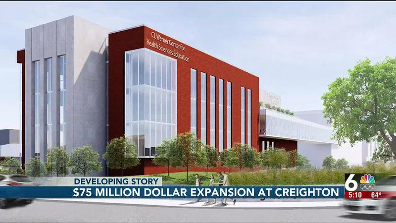 Officials break ground on Creighton University medical facility