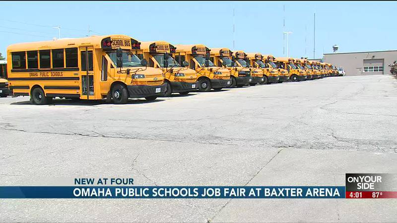 """Like many area businesses, the Omaha Public School District has put out its """"help wanted"""" sign...."""