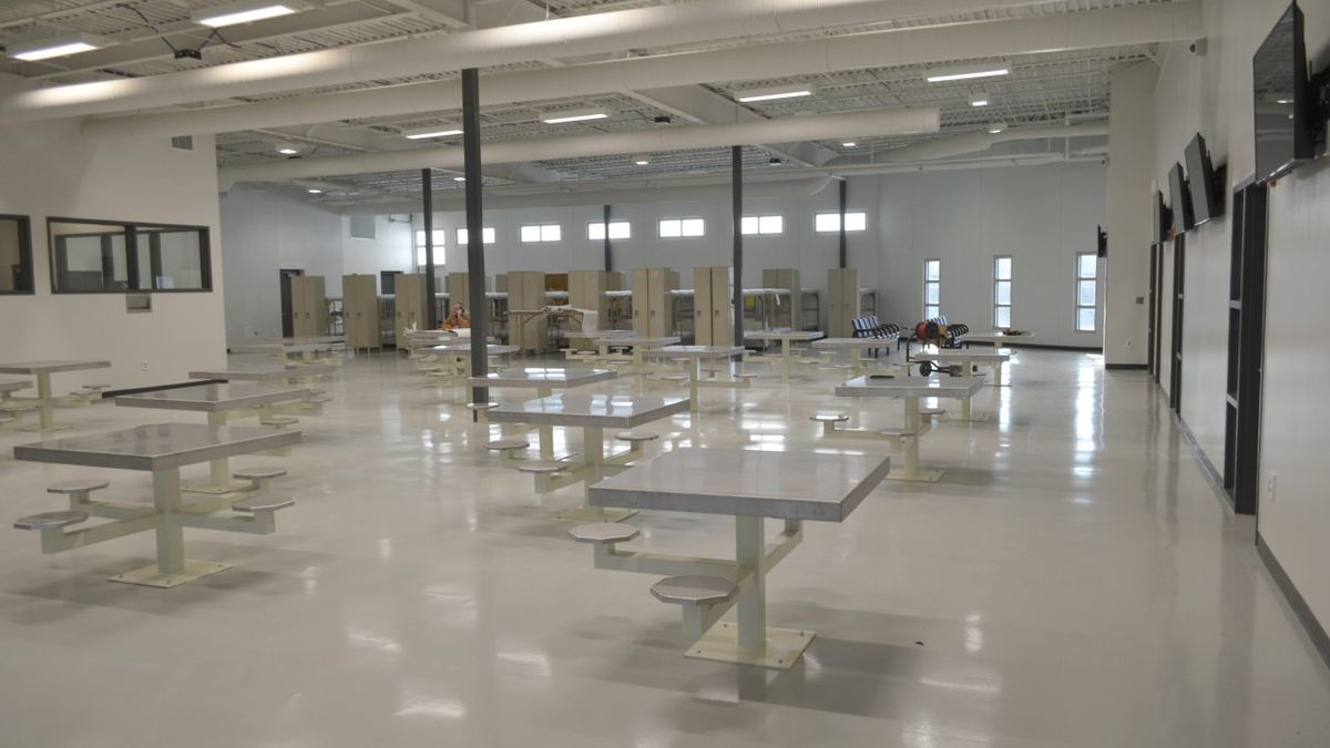 It's moving day for a group of Nebraska State Penitentiary inmates who are relocating to a new...