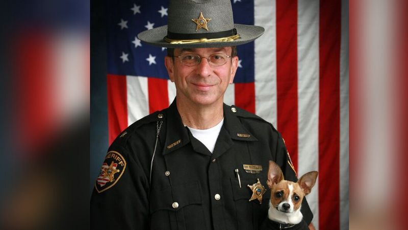 Retired Geauga County Sheriff Dan McClelland's trusted K9 and faithful companion, Midge, died...