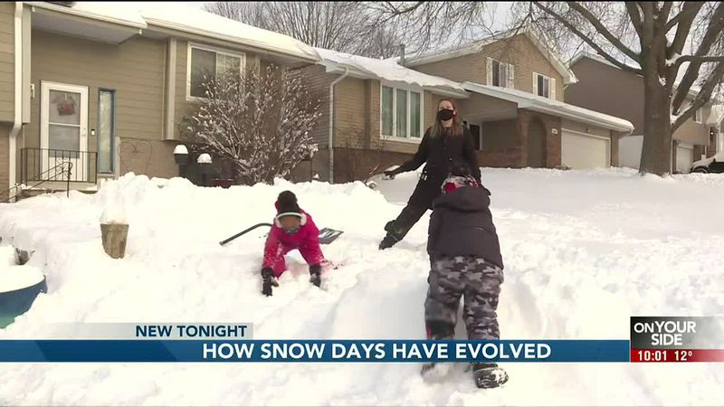How snow days have evolved