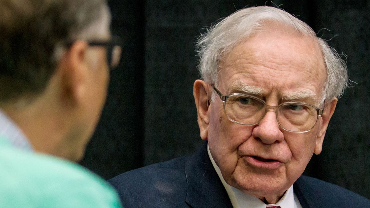 In this AP file photo from May 2016, Berkshire Hathaway Chairman and CEO Warren Buffett watches...