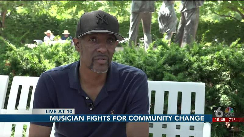 Omaha musician James Robinson says highlighting local talent is vital to the local music scene.