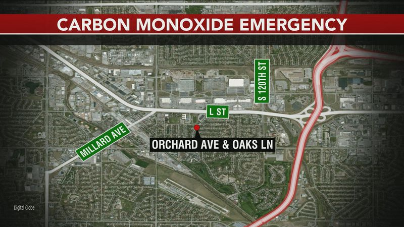 First responders raced to a home on Orchard Avenue and Oaks Lane for a carbon monoxide...