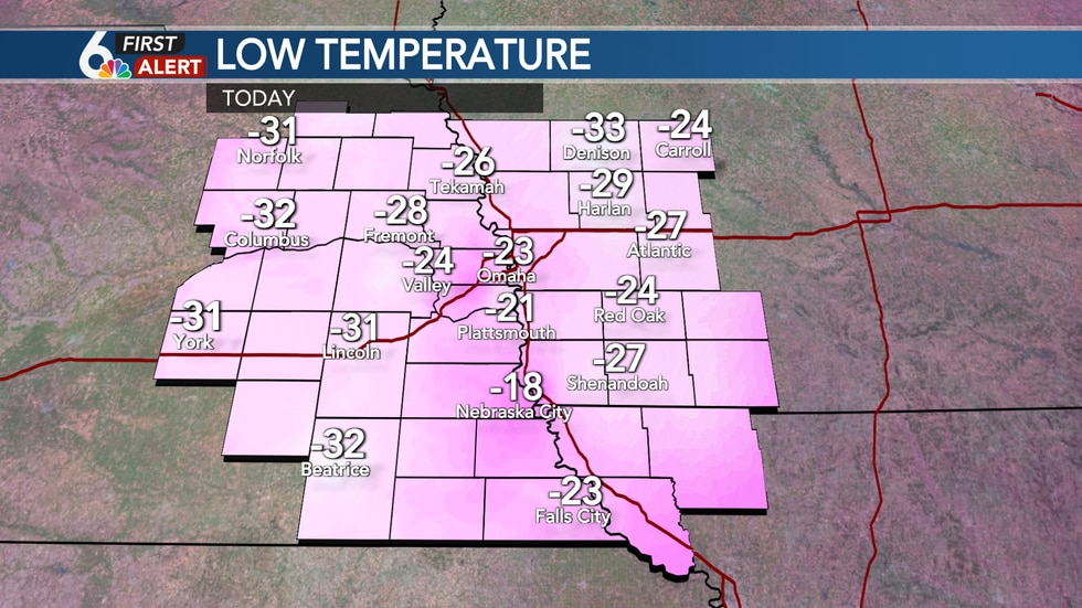 Record cold start to Tuesday!