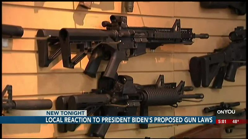 Omaha residents shared their thoughts onPresident Biden's gun control orders and proposed...