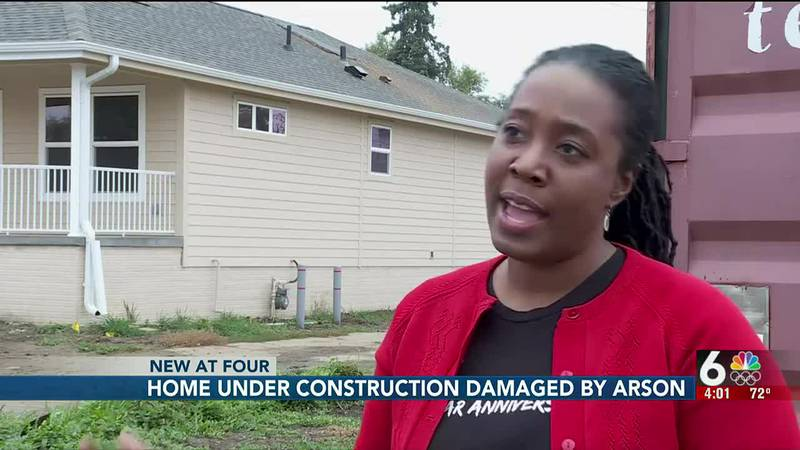 A fire broke out in a vacant home under construction near 24th and Spaulding Thursday night.