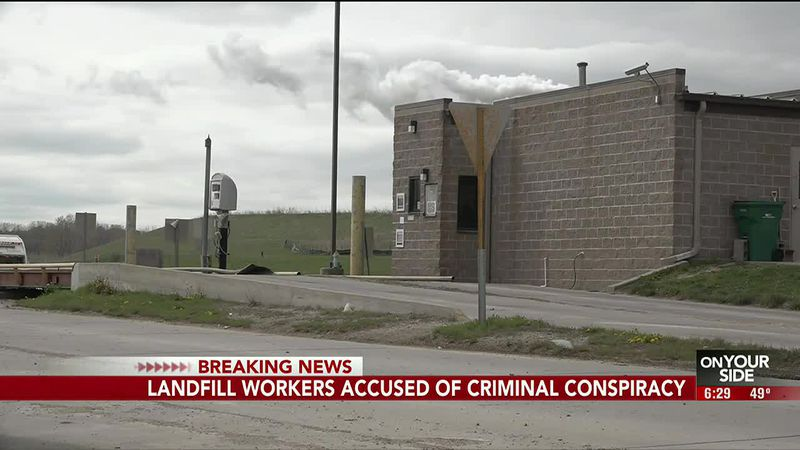 Landfill workers accused of criminal conspiracy