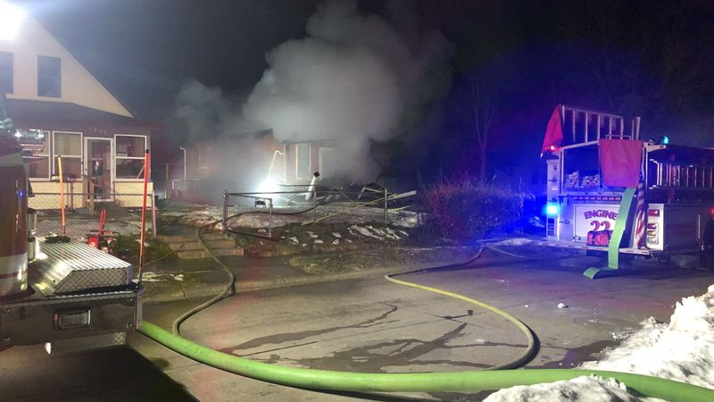 The Omaha Fire Department was dispatch to a house fire near 13th and Ogden streets Thursday...