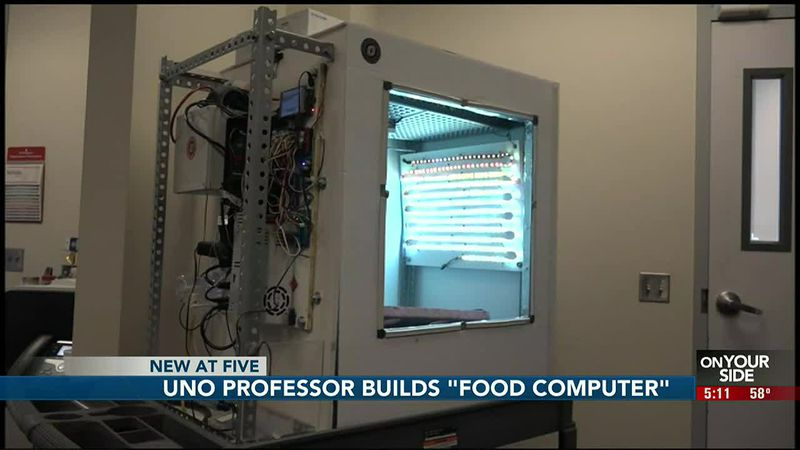 "UNO professor build ""food computer"""