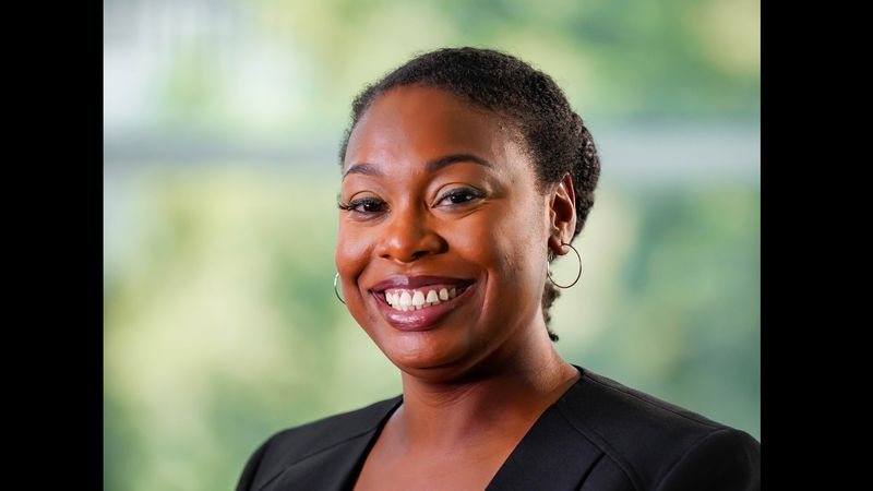 Jasmine Harris, born and raised in Omaha has a master's degree in public health and is running...
