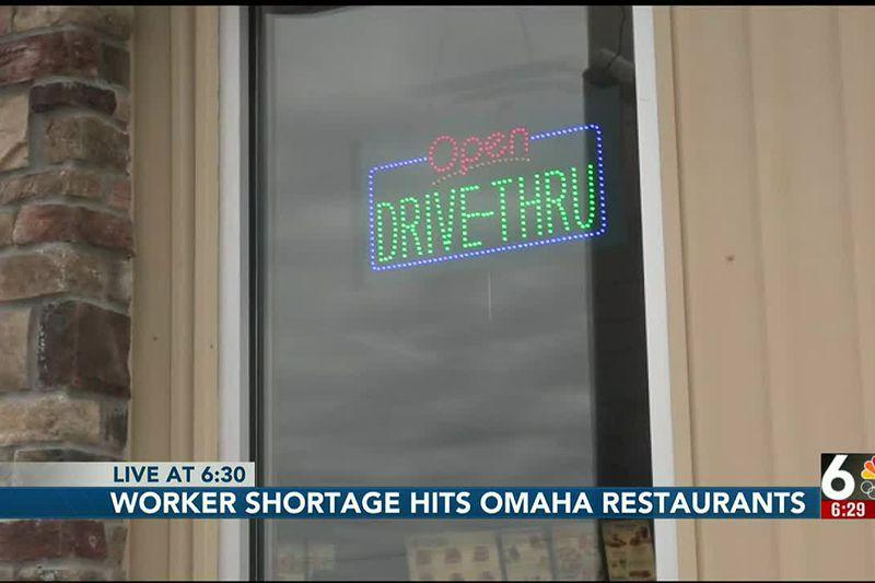 Worker shortage hits Omaha restaurants - 6:30 pm