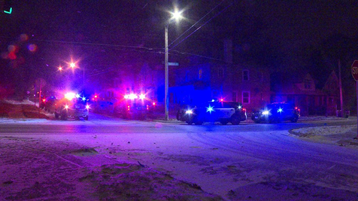 Omaha Police raced to 35th and Hamilton for reports of a shooting.