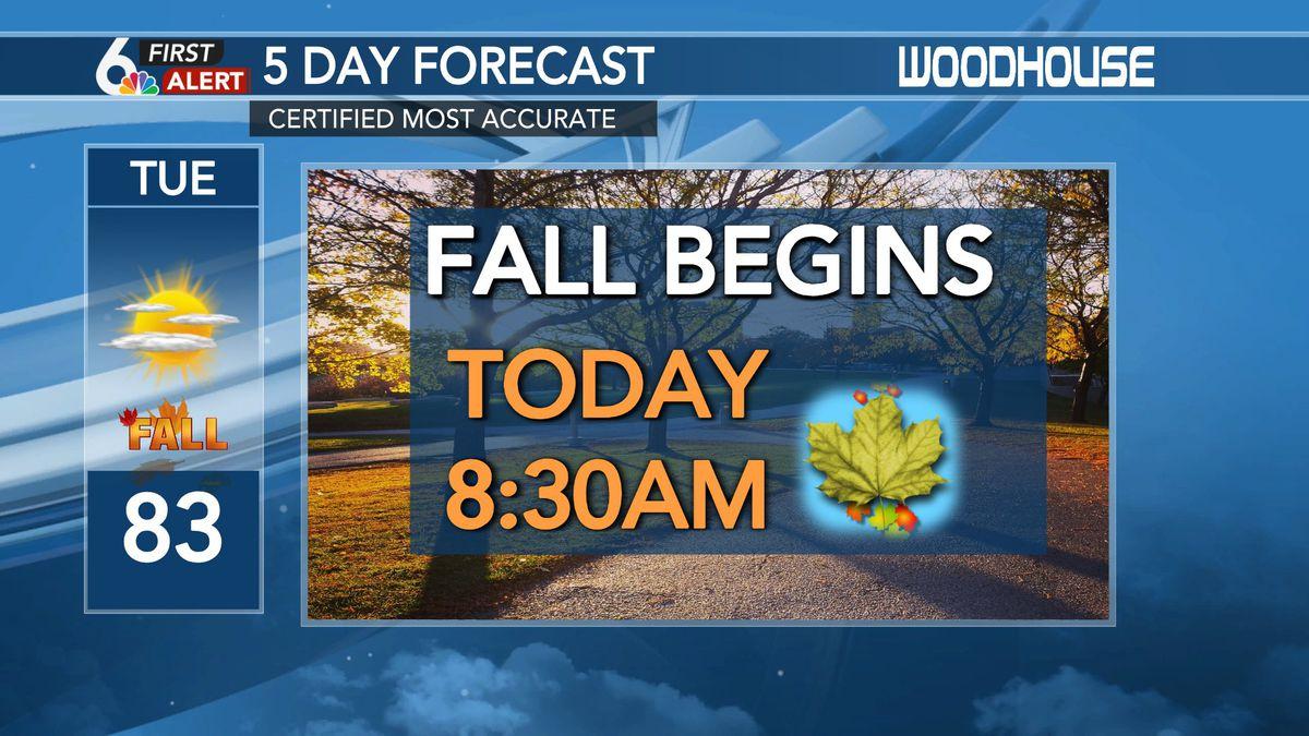 Astronomical fall begins September 22nd