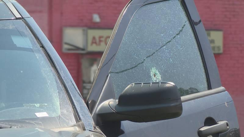 U Plaza Shooting Car Window