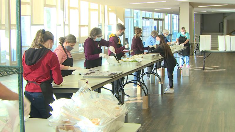 This is the 29th year for the Salvation Army's Turkeyfest, the Army delivers hundreds of meals...