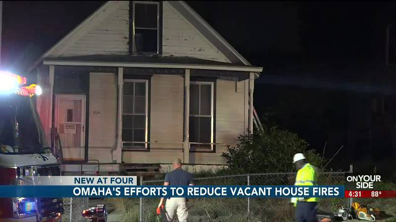 The Omaha Fire Department is trying to curb the number of fires happening in vacant homes and...