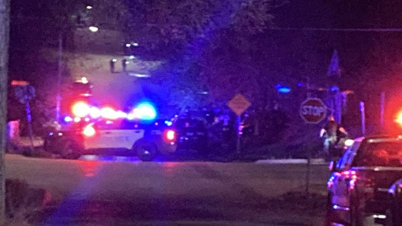 Omaha Police search the area of 39th & Miami after a shots fired call.