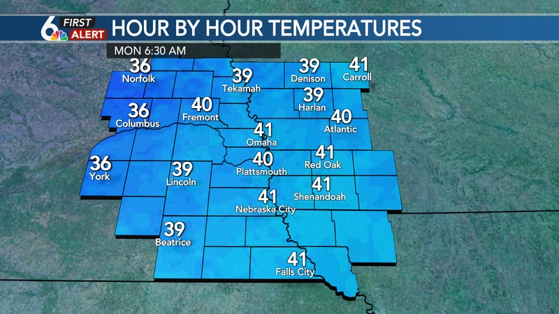 Patchy frost possible overnight