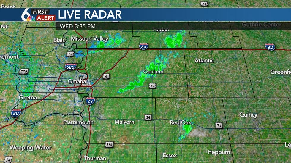 Smoke plumes caught on radar Wednesday afternoon