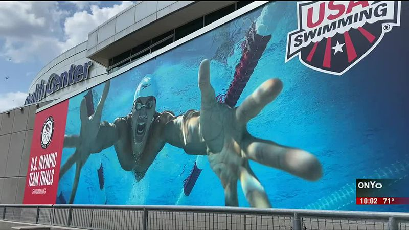 The U.S. Olympic Swim Trials is coming to an end in Omaha as the College World Series ramps up,...