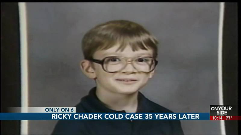 Detectives take another look at Ricky Chadek cold case.