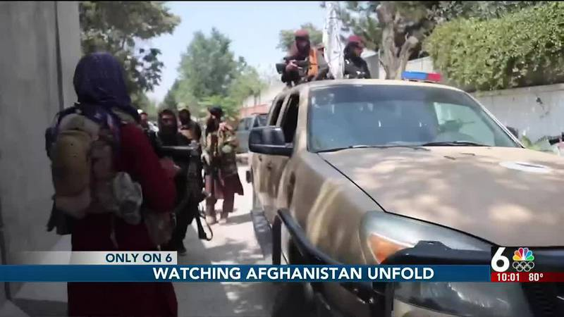 As the chaos continues in Afghanistan an Afghan-American living in Omaha is speaking out after...