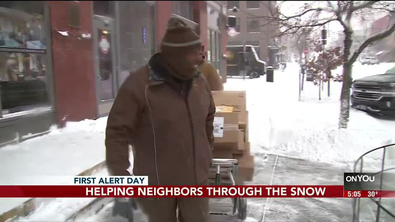 Love thy neighbor; help thy neighbor. On Tuesday, we saw examples throughout the city of people...