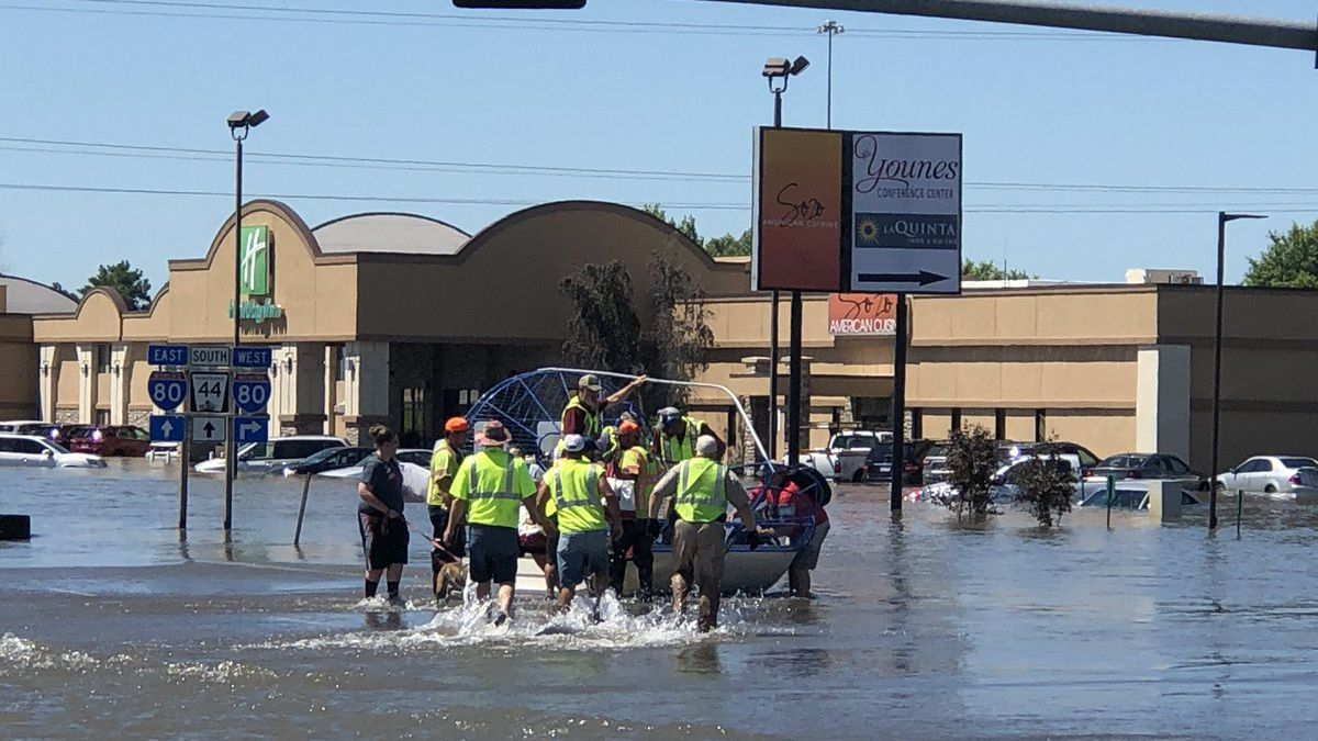 Hotels in Kearney were being evacuated Tuesday, July 9, 2019. (Courtesy of City of Kearney)