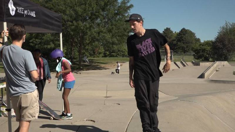 A group of Omaha kids graduated from Rabble Mill's skate school today.