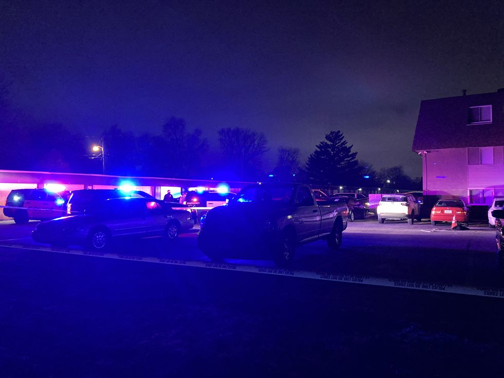 Police responded to a shooting near N. 35th & I-29