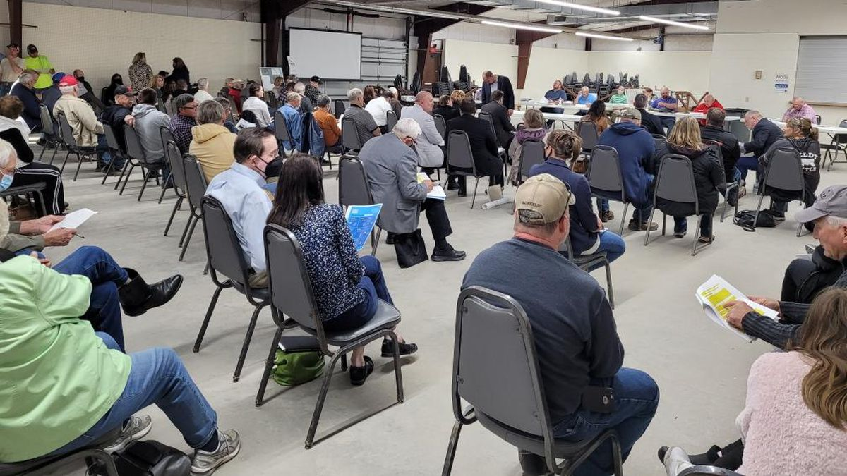 Many local residents attended the Saunders County Planning Board meeting Monday night, May 3,...