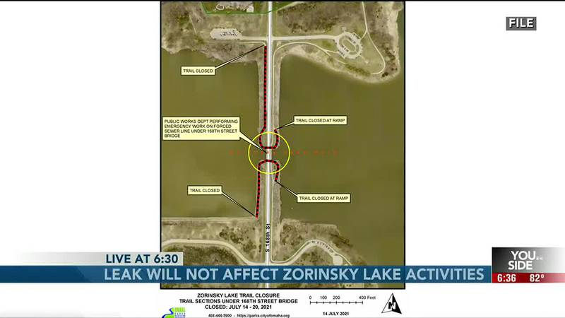 Don't let your pets get into Zorinsky Lake.