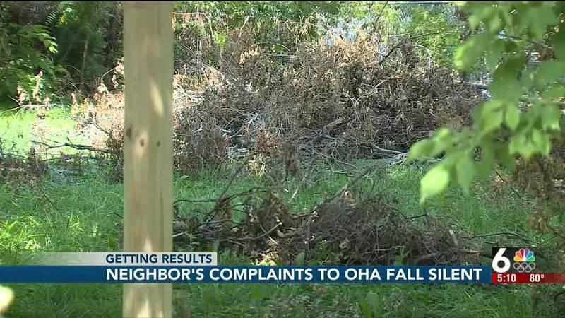 Neighbor's complaints to OHA fall silent - 5 p m