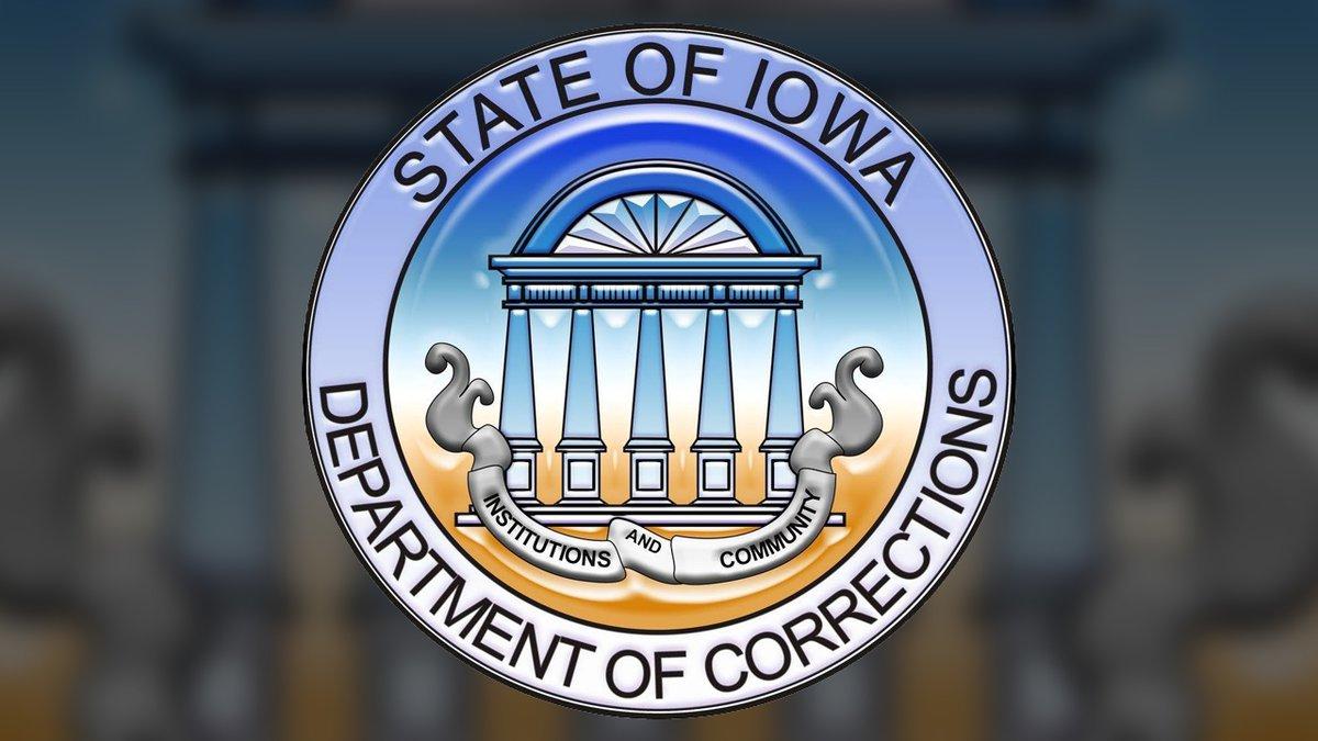 Iowa Department of Corrections logo.