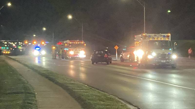 Omaha police are investigating a crash at 124th & Center St.