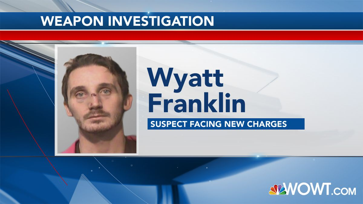 Wyatt Franklin charged with weapon incident at jail
