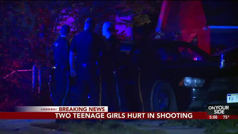 An early Sunday morning shooting in north Omaha sent two teenage girls to the Nebraska Medical...