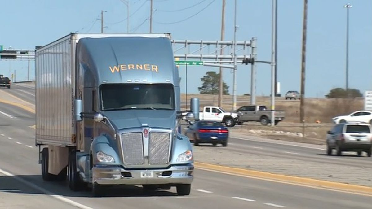Sheeds, who lives in Texas, drives for Werner Enterprises. He's been accident-free for 26 years. (Photo Courtesy: NBC)