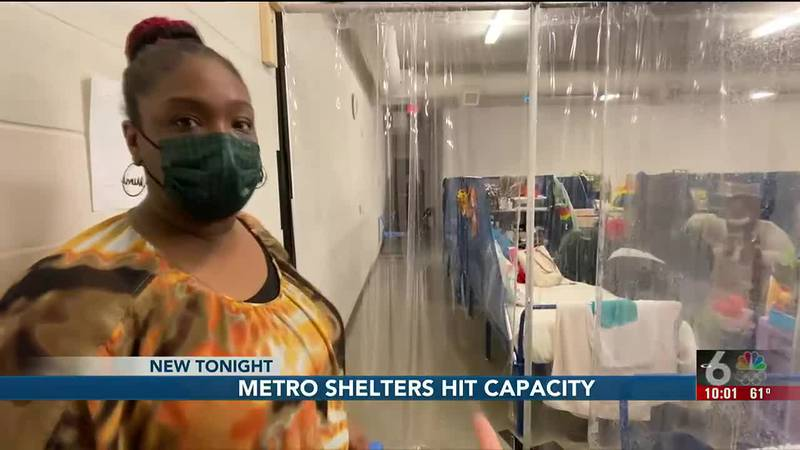 Shelter beds are filling up fast in Omaha as people continue to struggle through the pandemic...