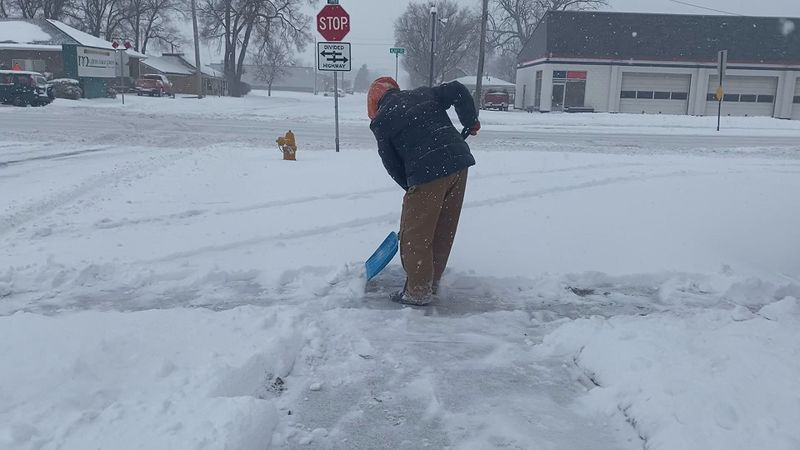 Pottawattamie County issued a 24 hour snow emergency as road conditions worsened Tuesday...