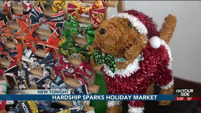 On Saturday a group of small, locally-owned businesses put together their own holiday market.