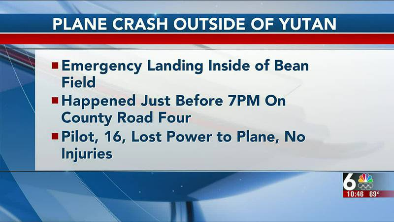 A 16-year-old pilot was forced to make an emergency landing after his plane lost power near...