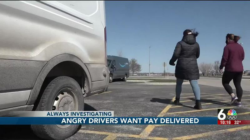 Delivery drivers say they weren't paid